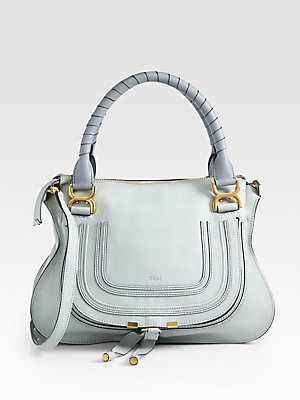 fake chloe bags - chloe calfskin mini marcie round crossbody icy mint
