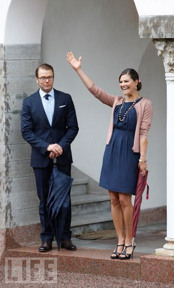 Crown Princess Victoria in a MAYLA Dress as seen in LIFE