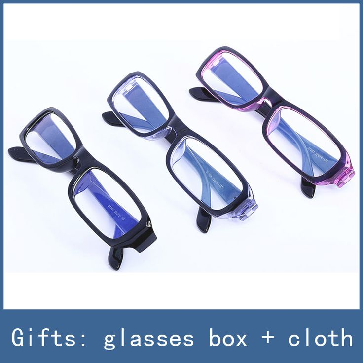 3 Colors New No-Degrees Anti-fatigue Eye Protective Safety Goggles Radiation Resistant Computer Glasses , With Box + Cloth Free
