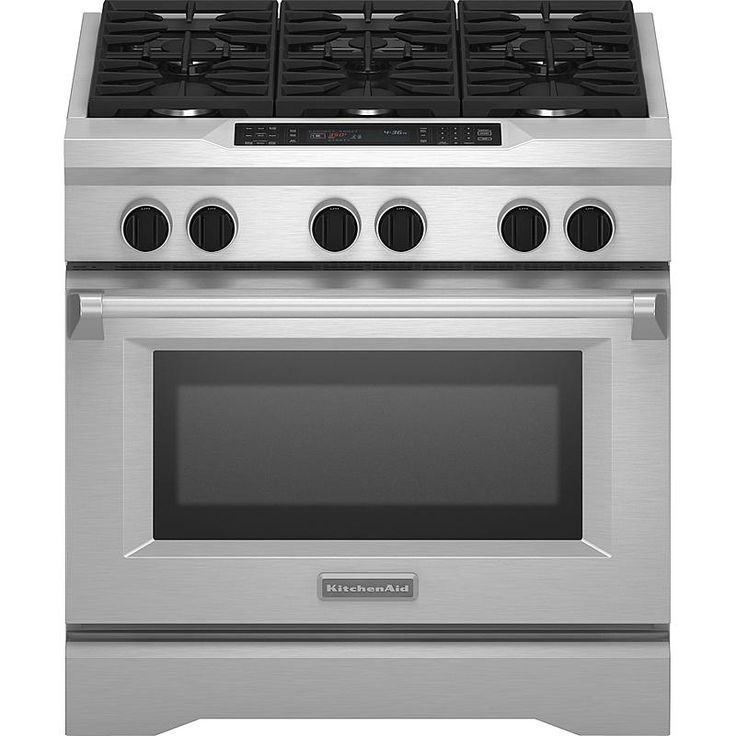 "KitchenAid Pro-Style® 36"" Dual Fuel Range  Sears Outlet Certified like new. $4,596.35 delivered"