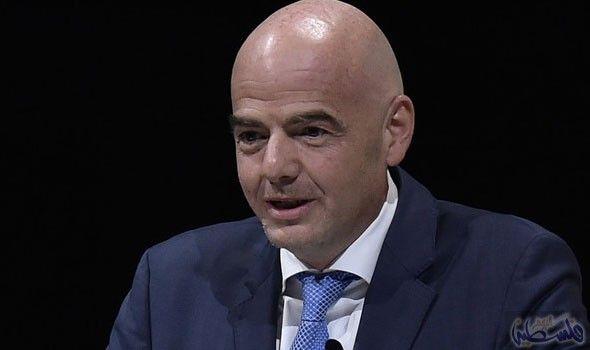 إنفانتينو يعد بالشفافية في إعطاء حق تنظيم كأس العالم