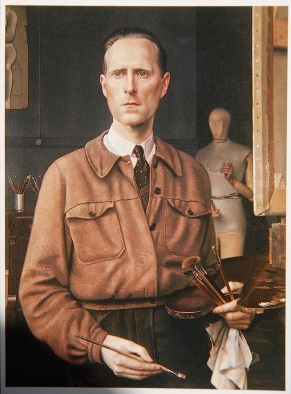 Carel Willink, Self-Portrait, 1944
