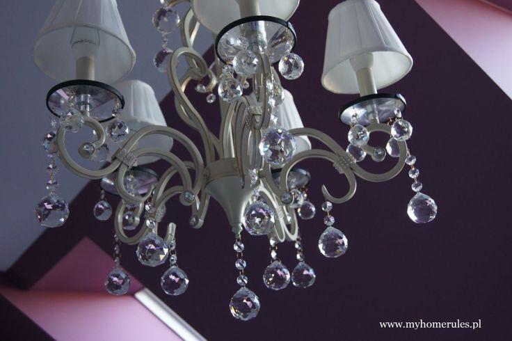 #bathroom #chandelier