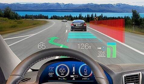 Many cars will soon come with Head-Up Displays that aim to allow the driver to see all the information they need without taking their eyes away from the road. Useful or potentially distracting? by _parkme