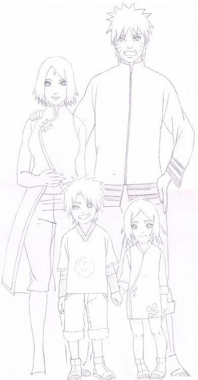 The Uzumaki family; Naruto Uzumaki, Sakura Haruno-…