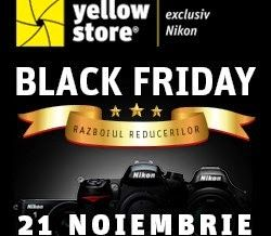 Black Friday la Yellow Store ~ Tech Reviews Black Friday continua si in zilele de 22 si 23 Noiembrie 2014.