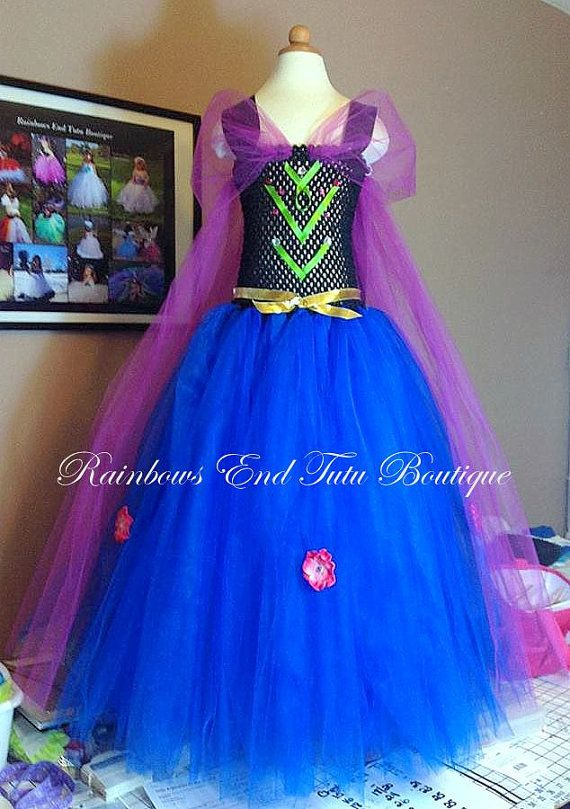 Frozen  Anna  Tutu Dress