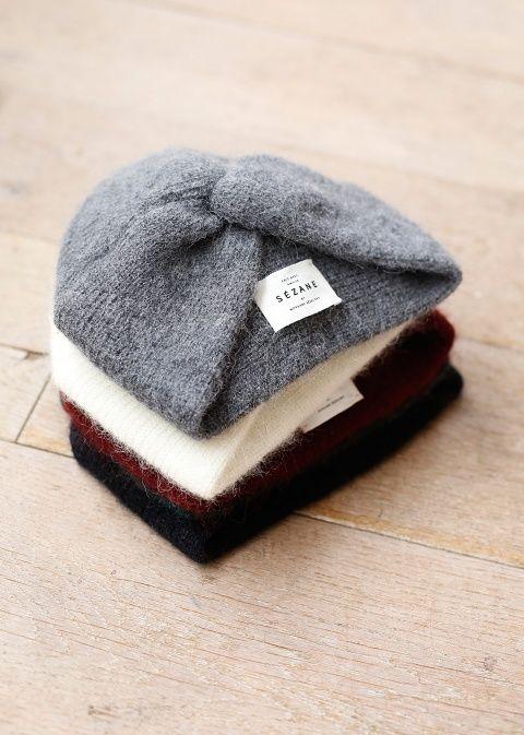turban blanc