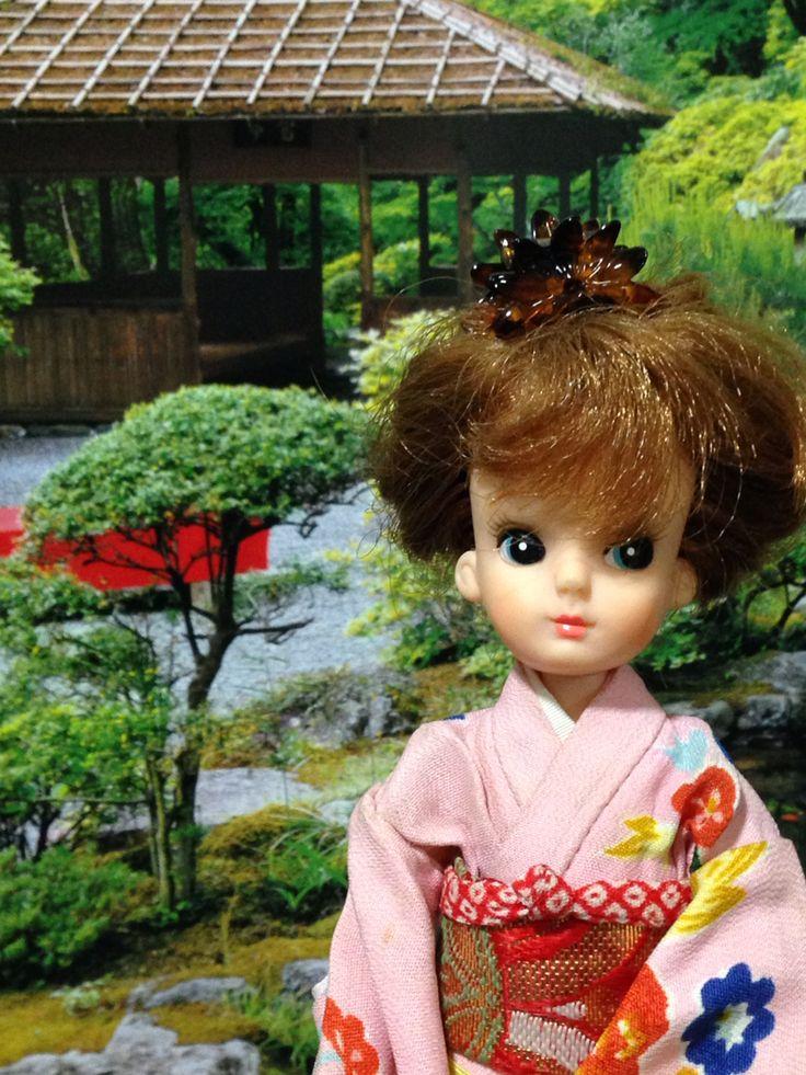 Licachan in Kimono