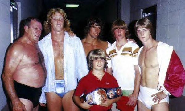 The Von Erichs...I think I liked Kerry (?) the best (center, back)