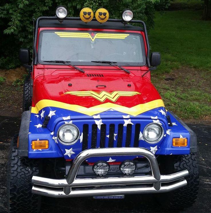 Wonder Woman Jeep