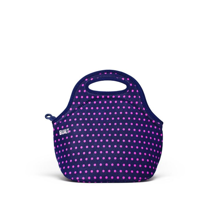 Amazon.com: BUILT NY Gourmet Getaway Neoprene Lunch Tote, Micro Dot: Reusable Lunch Bags: Kitchen & Dining