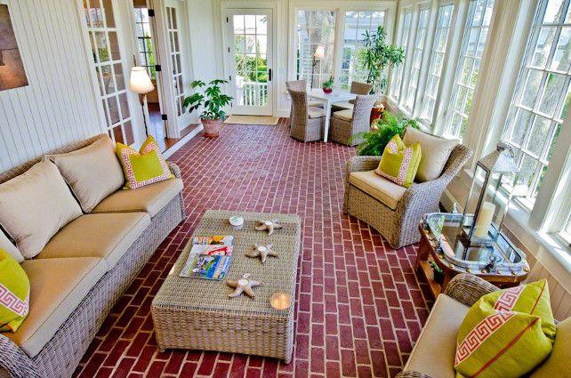 121 best sunroom images on pinterest for Solarium flooring