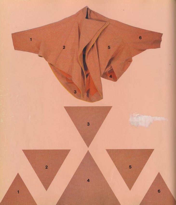 Крой из треугольников