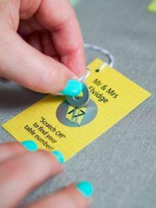 [DIY] Cartes à gratter : idée originale pour votre #mariage #wedding