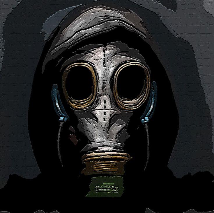 Gas Mask .GIF [Icon] da camicia di forza-Niko
