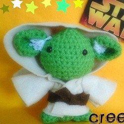 List of free star wars crochet patterns. Crochet star wars characters, crochet yoda toy , crochet r2d2 toy, crochet ewok, crochet rebel alliance...