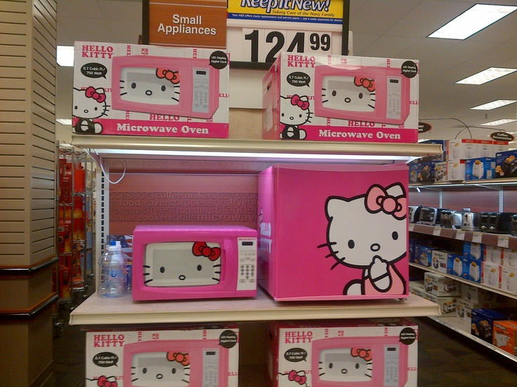 Hello Kitty Small Appliances Microwave And Personal
