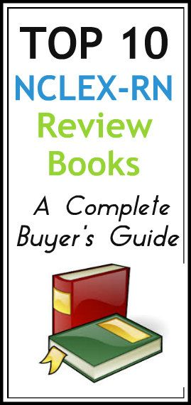 Here's a complete list of the ten best NCLEX-RN review books we highly recommend: http://www.nursebuff.com/2014/05/best-nclex-rn-review-books/