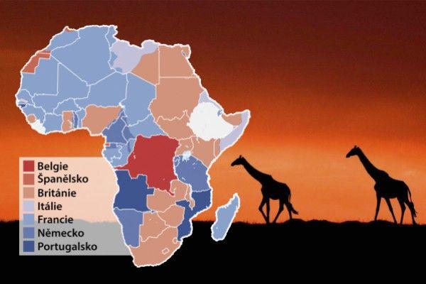 Dělení kontinentu: Afrika v roce 1913