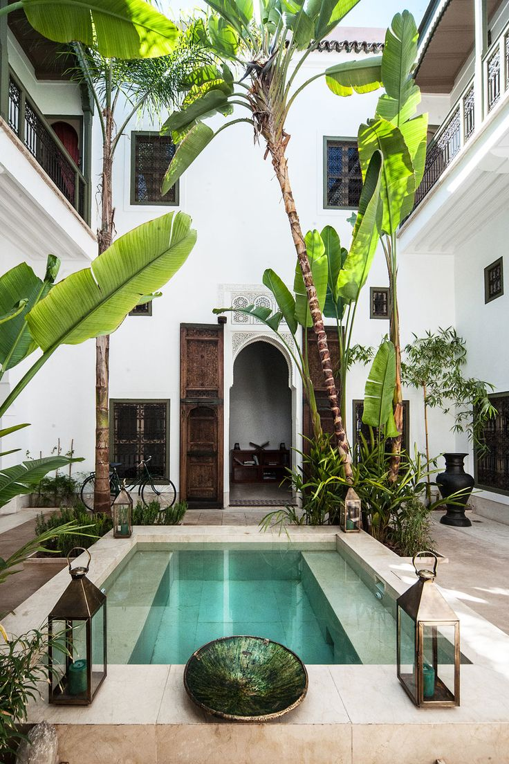 Jaaneman, a boutique hotel in the bohemian heart of the Marrakech medina.