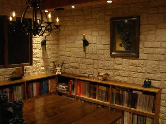 Medieval Man Cave Ideas : The diy attic d gaming room o jays rooms and
