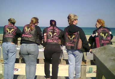 Leather & Lace MC, a women's motorcycle club #motoress