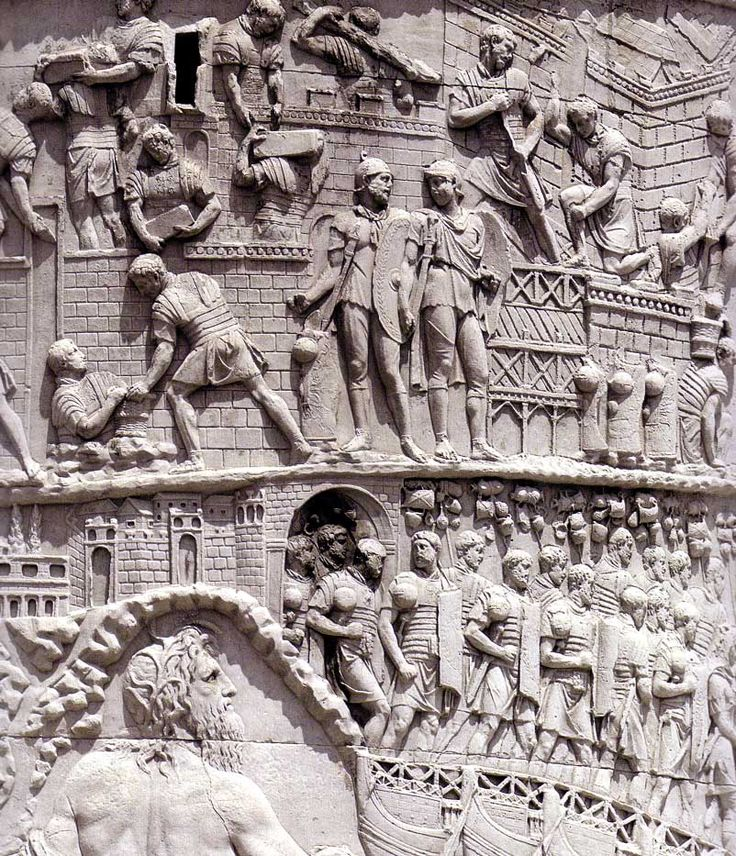 Roman ArtColumn of TrajanDetail view113 ADRome