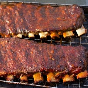 Smoked Ribs using the 3-2-1 Method