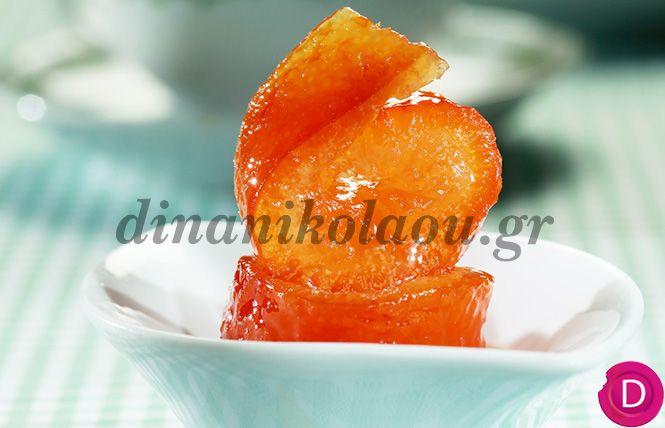 Πορτοκάλι φλούδα, γλυκό του κουταλιού   Dina Nikolaou