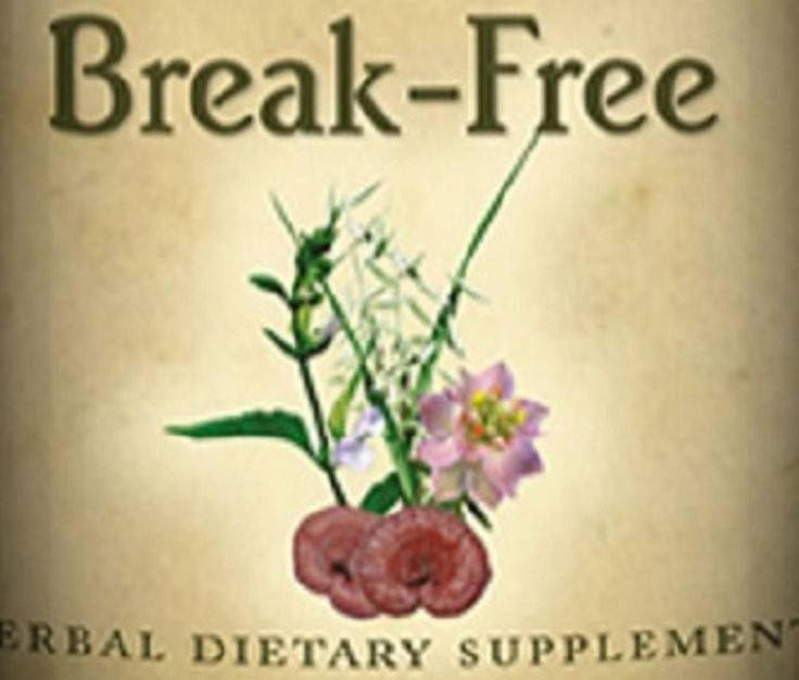 BREAK-FREE FORMULA for Men Tension & Stress Relief QUIT SMOKING Blend 100% USA
