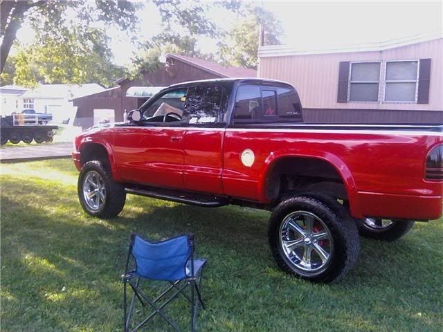 lifted dodge dakota truck  01 lifted club cab  Dodge Durango