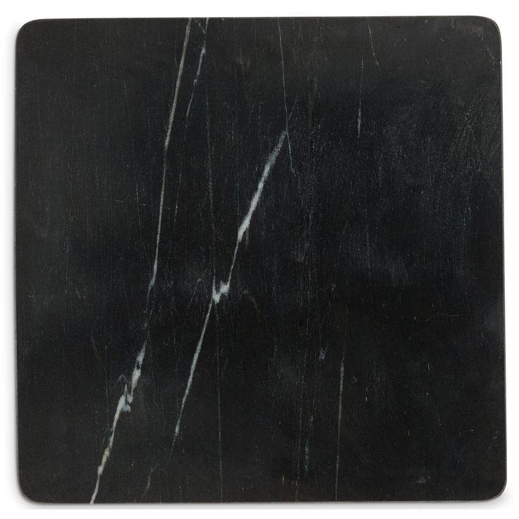 Black Marble Skjærebrett, Medium, Sort - Nordstjerne - Nordstjerne - RoyalDesign.no
