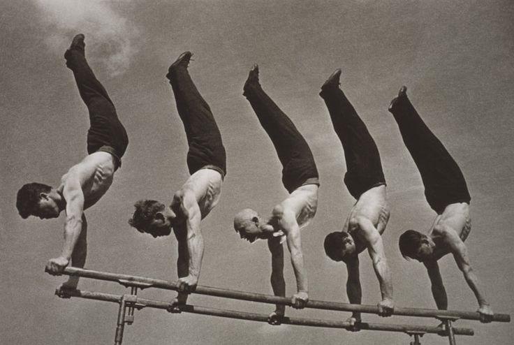 Georgy Zelma ( 1906 - 1984 ) grupo de gimnastas