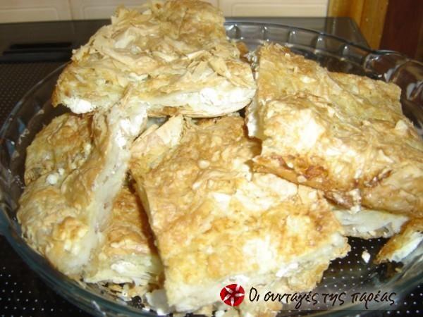 Η πατσαβουρόπιτα της μαμάς #sintagespareas