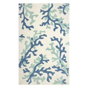 Coral Fixation Area Rug (3 Ft. L X 2 Ft. W)