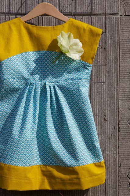 Maggi Mae Pattern by Shwin& shwin sewn by Compagnie M.