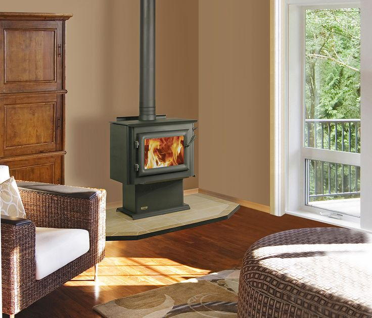 The Quadra-Fire 4300 Millennium wood stove is designed to deliver high heat output and powerful performance with minimum emissions. With a burn time of up to 12 hours, the 3100 Millennium features patented four-point combustion technology.