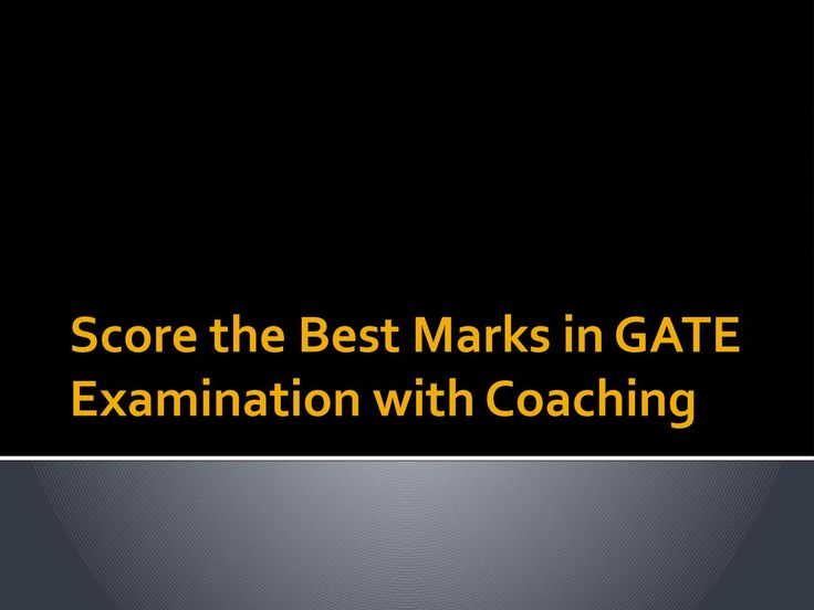 Clearing the GATE Exam is Easy with a Coaching Institute