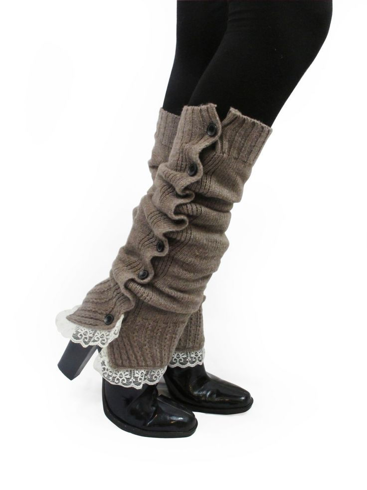 how to wear leg warmers with boots
