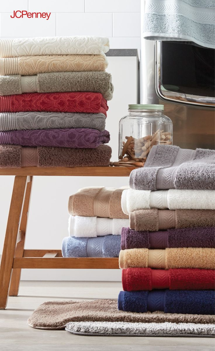 Best Bath Images On Pinterest Bath Towels Backyard House And - Plush towels for small bathroom ideas
