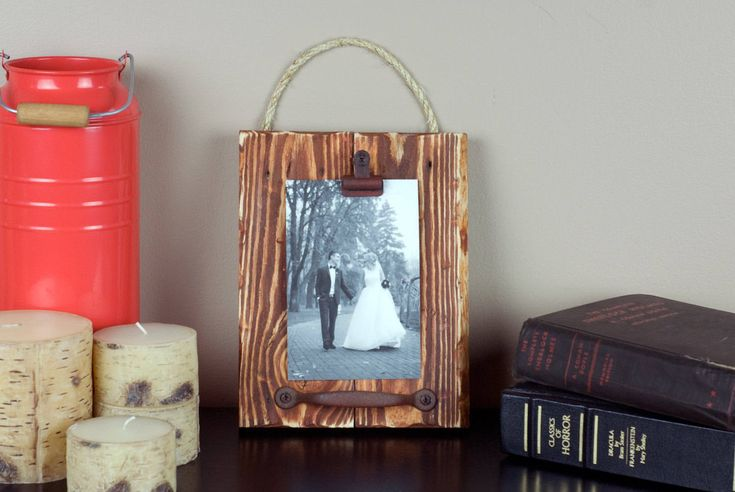 Rustic Picture Frame. 4x6 Picture Frame. Wood Picture Frame. Distressed Picture Frame. Brown Picture Frame. Vintage Frame. Shabby Chic by RusticStudioA on Etsy