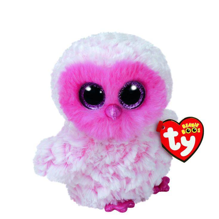 579f4a1ea99 Ty Beanie Boo Small Twiggy the Owl Plush Toy