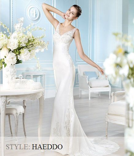 San Patrick Wedding Gown -Fashion Collection 2013 -Haeddo
