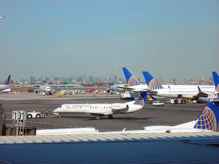 """Aeroporto Internacional de Newark"". #Newark, Nova Jersey. USA."