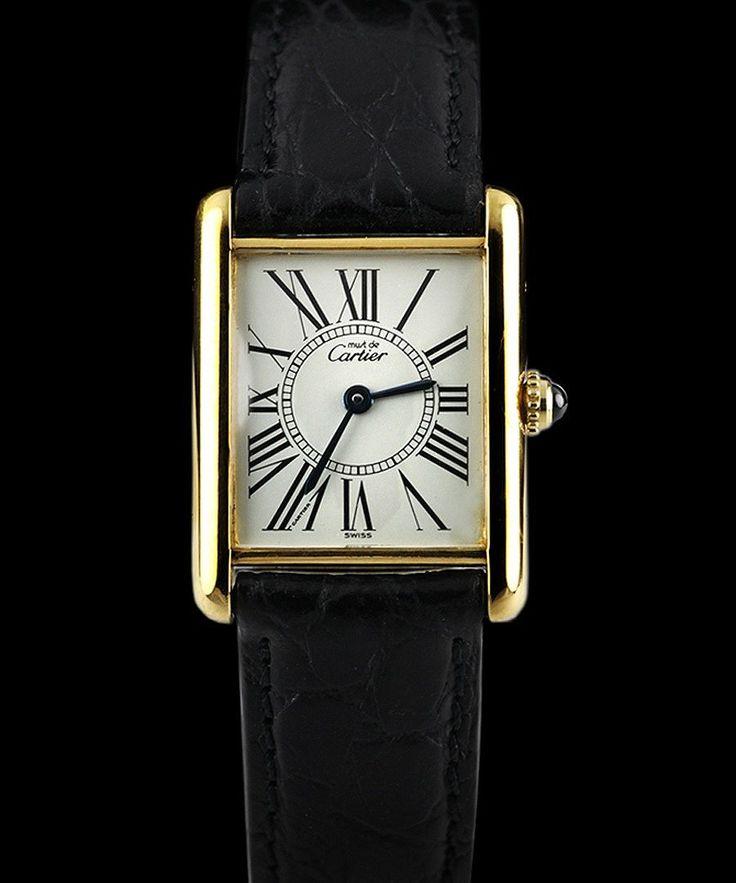 Cartier Women's Must de Tank watch, Designer Jewellery Sale, Vintage watch boutique , Secret Sales