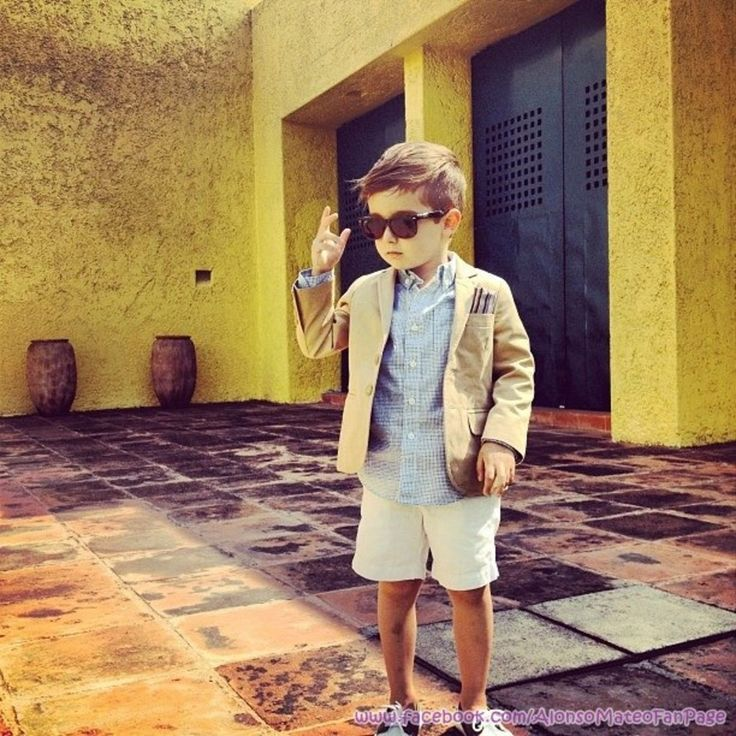 Meet 5-Year-Old Alonso Mateo, the Best Dressed Kid You Have Ever Seen 1