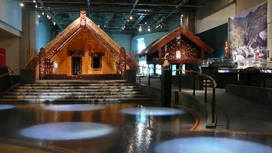 Museu da Nova Zelândia (Te Papa Tongarewa) Wellington, Nova Zelândia