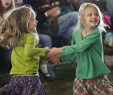 Michigan Irish Music Festival shares its success, a lot of green, with Muskegon food pantry