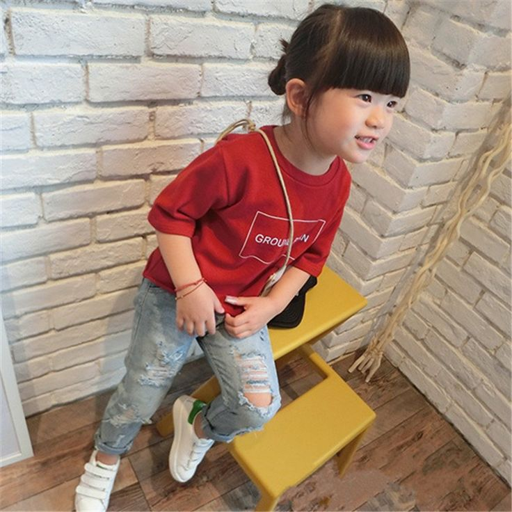 Find More Jeans Information about Girl Ripped Jeans 2016 Blue Skinny Girl Hole Jeans For Kids Spring Autumn Pants Fashion Slim Girl Light Hole Harem Jeans,High Quality jean design,China jeans baggy Suppliers, Cheap jean jacket with jeans from Best Gift & My Angel on Aliexpress.com